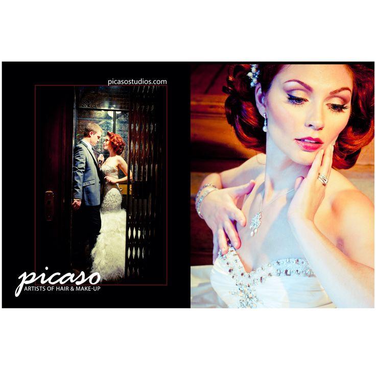 Bride & Groom Canada: 2013 National edition. Cover shoot #hair #makeup by Picaso Studios. #bride #bridal #bridalhair #bridalmakeup #bridalstyle #wedding #weddinghair #weddingmakeup #weddingstyle