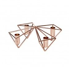 Copper Candleholder (4 Candles) 19.26$(international shipping). See more amazing desing products at https://www.designisthis.com