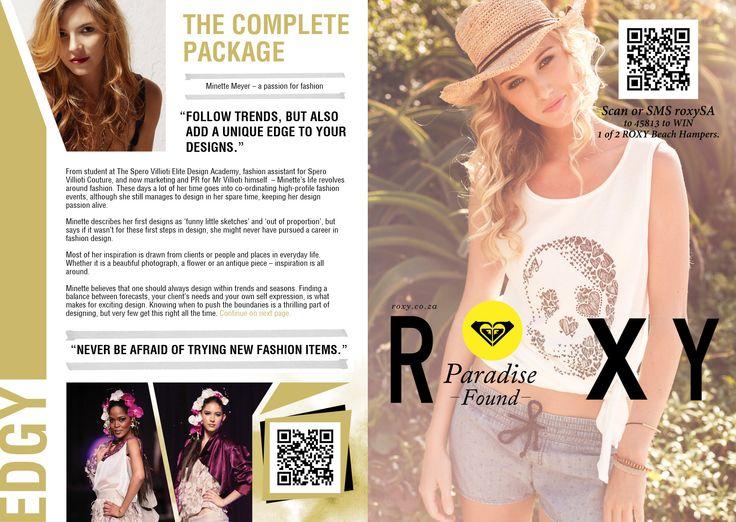 Roxy advert