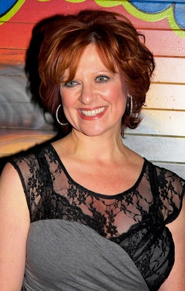 Caroline Manzo - met her at The Brownstone in Paterson, NJ.