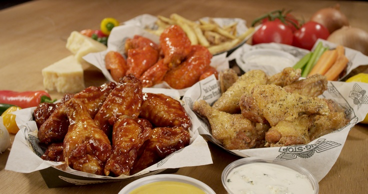 Looking for some heat on the order of wings without sacrificing the flavor? Try the Atomic flavor at Wingstop. Great wings, great price, and great fries!
