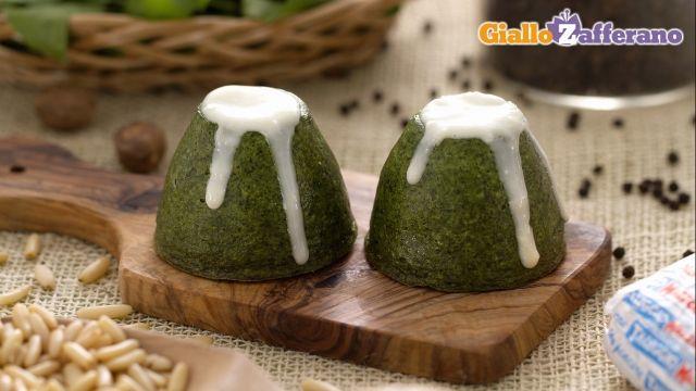 Flan di spinaci e taleggio - Giallozafferano