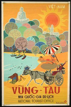 #vintage travel poster vietnam  #Travel Vietnam - We cover the world over 220 countries, 26 languages and 120 currencies Hotel and Flight deals.guarantee the best price multicityworldtravel.com