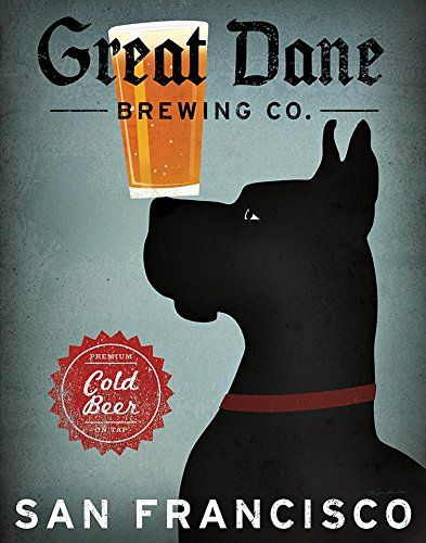 Black Great Dane Brewing Co San Francisco   Eh, so it's a black Dane. I suppose someone might like it.  ;-)