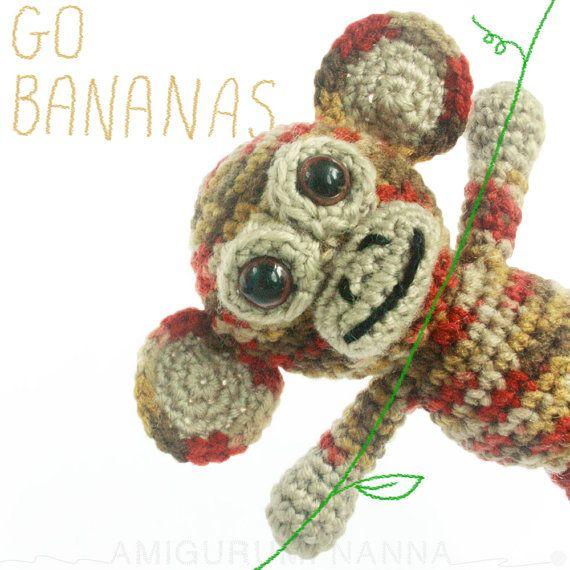 Amigurumi Monkey  Crochet Amigurumi Animals  by AmigurumiNanna