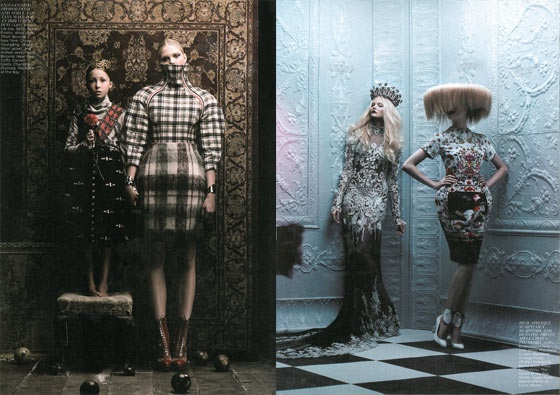 the best and worst of december fashion magazine -- the cut : best moody royals spread - flare