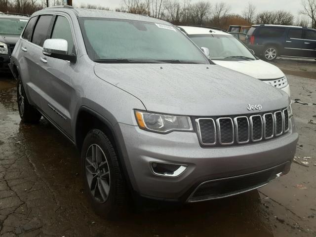 Salvage 2018 Jeep Grand Cherokee Limited Jeep Grand Cherokee