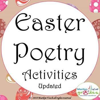 There are 12 new pages that have been added to this work. This is a poetry and writing unit based around the theme of Easter. The series is about different types and styles of poetry writing and appreciation. There are activities and worksheets that can be used in a variety of ways, as a unit of work over