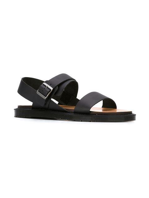 Dr. Martens slingback buckled sandals