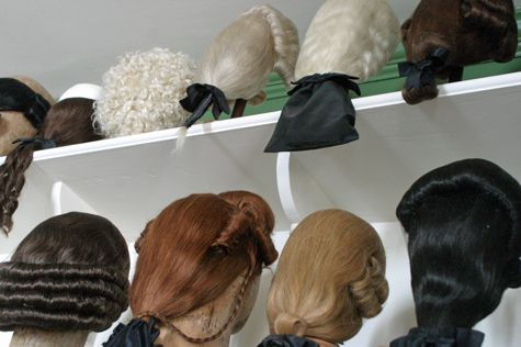 images 18th century wigs - Google Search