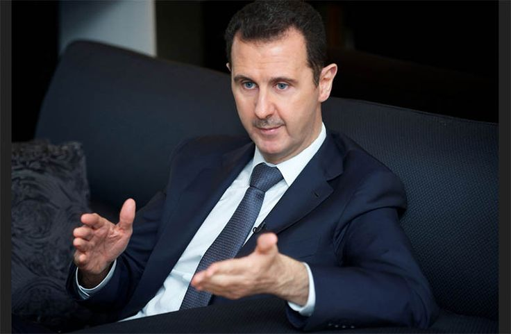 it is worth pointing out recent statements made by Assad during the course of an interview regarding the opinion of the Syrian government on Donald Trump.
