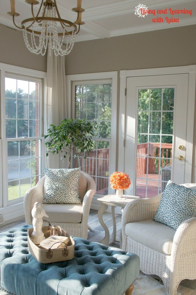 Sherwin Williams Perfect Greige Sunroom Paint Color Around The House Pint