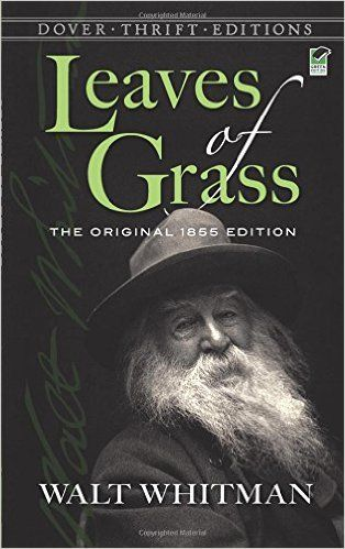 Leaves of Grass: The Original 1855 Edition (Dover Thrift Editions): Walt Whitman: 9780486456768: Amazon.com: Books