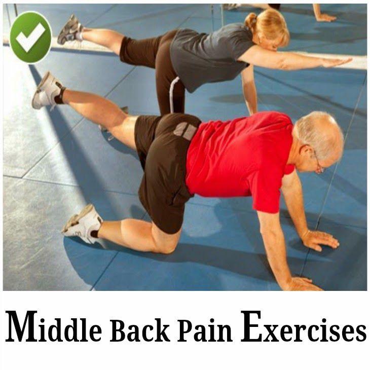 Middle Back Pain Exercises   Medi Tricks