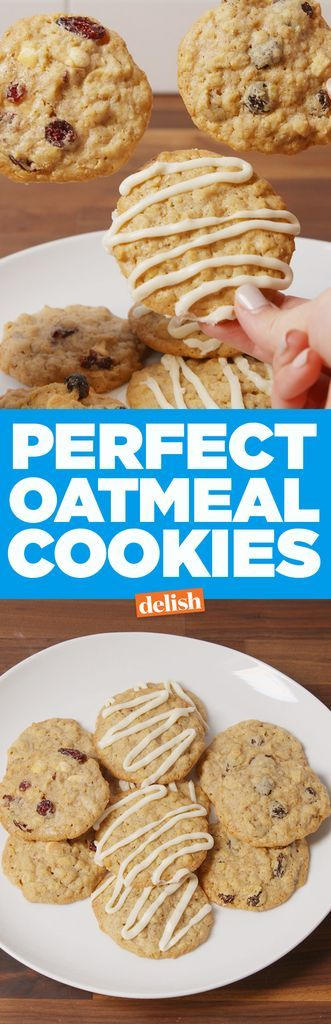 These classic oatmeal cookies can be personalized with your favorite mix-in combinations.