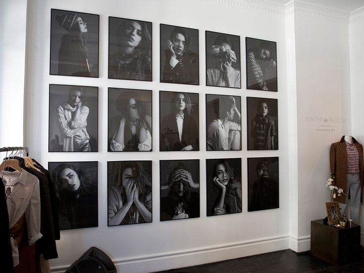 Our Press day portrait wall: Autumn-Winter 2014