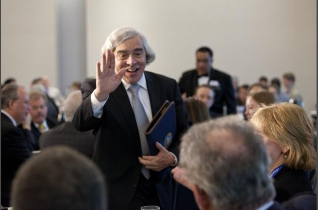 Photo Gallery: Energy Secretary Ernest Moniz's First Day on the Job