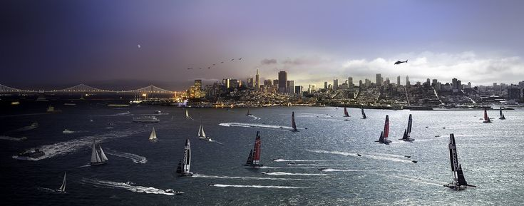 America's Cup, San Francisco - Day to Night America's Cup SF