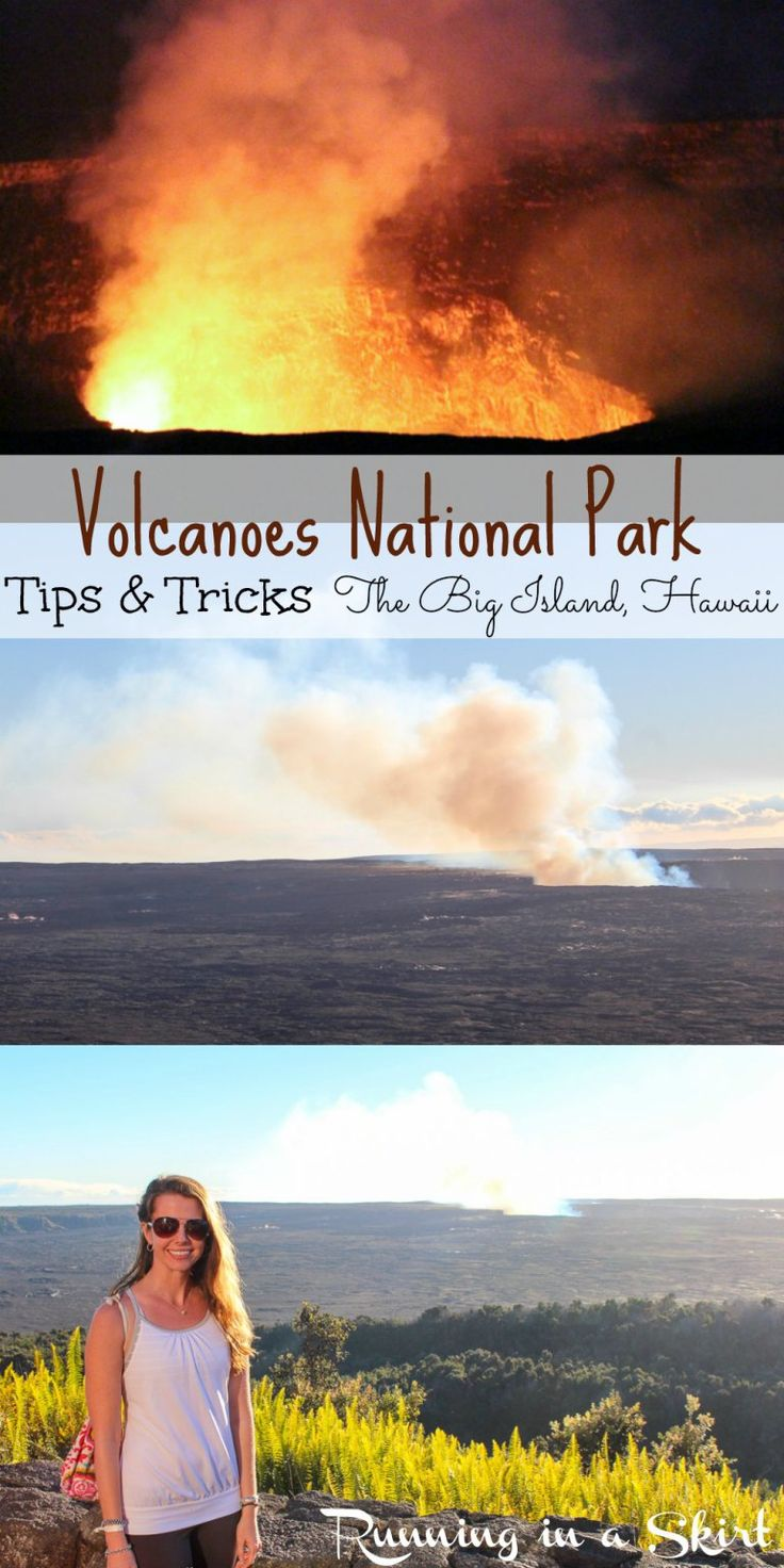 Hawaiian Volcanoes National Park Tips & Tricks - Visiting the active volcano, Kilauea on The Big Island of Hawaii- Bucket List! | Running in a Skirt