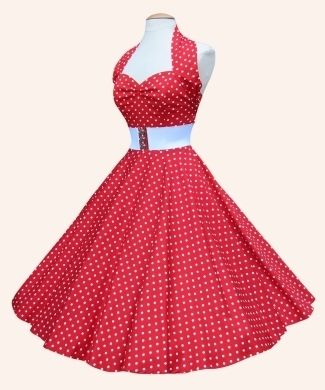 50s Halterneck Polka dot Dress from Vivien of Holloway | 1950s Dresses from Vivien of Holloway  This is Carrie Hope Fletcher's dress. LOOK HOW AMAZING IT IS I WANT IT SO MUCH LOOOOOOOK PRETTY UGH UEHSTJGHJSDHBGUHRD