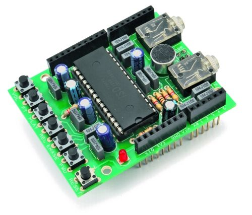 A voice shield for arduino give to your ideas