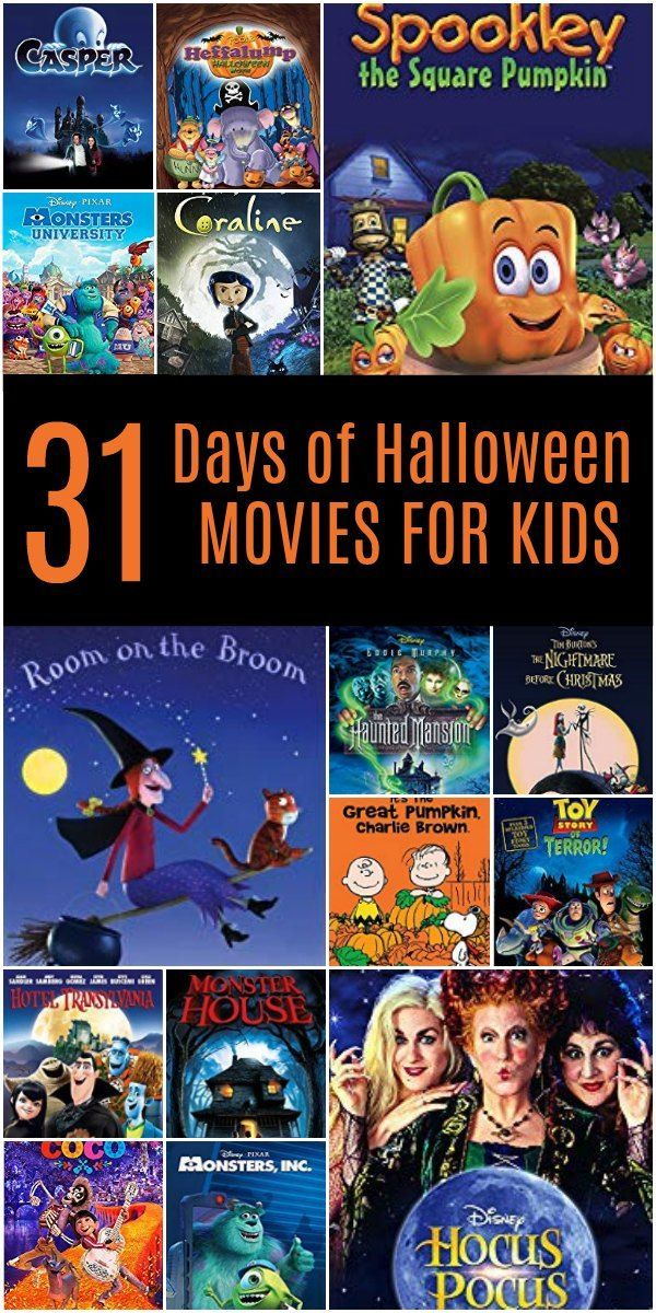 31 Days of the Best Halloween Movies for Kids Halloween