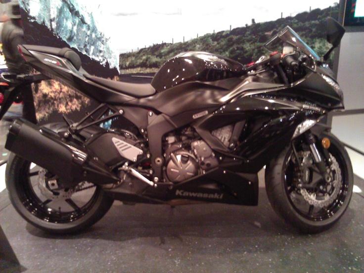 Kawasaki Ninja Motorcycle. #NYMotorcycleShows #Bikes #Cruisers #Motorcycles