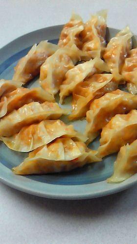 高野豆腐とにんじんの餃子