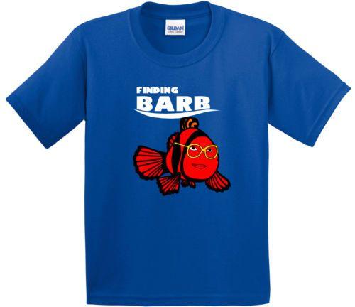 Encontrar-Barb-T-shirt-desconocido-cosas-encontrar-Dory-Finding-Nemo-TV-Geek
