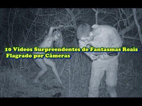 10 Vídeos Surpreendentes de Fantasmas Reais Flagrado por Câmeras
