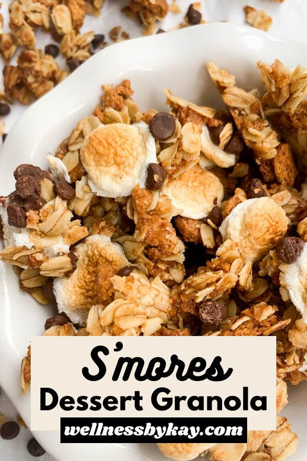This S'mores Dessert Granola is such a fun spin on the classic summer treat! It is super easy to make, has the taste of…
