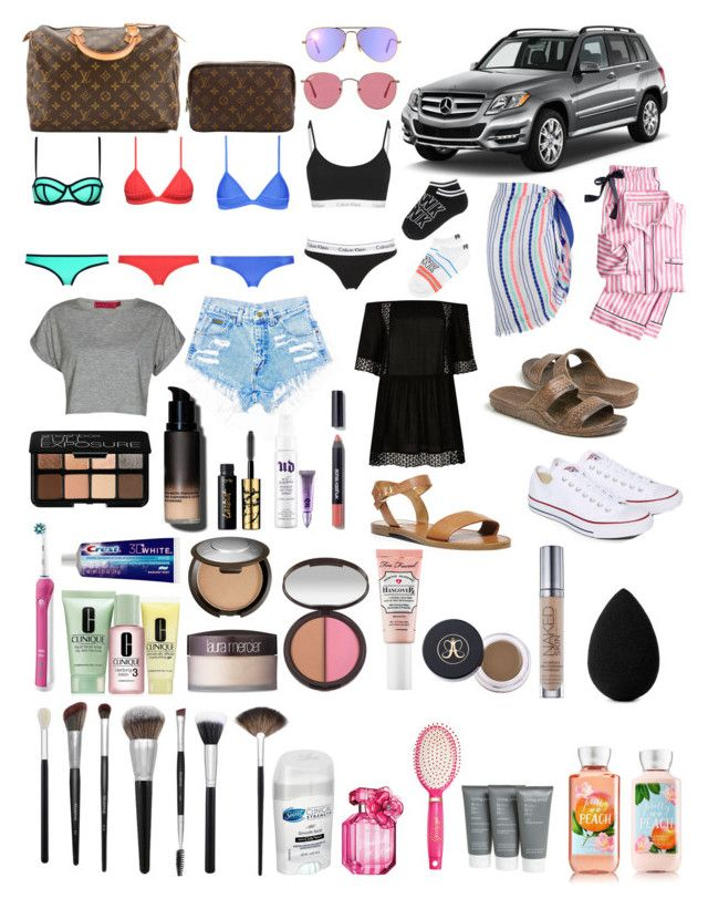 """Untitled #33"" by ilovemycat5 ❤ liked on Polyvore featuring beauty, Mercedes-Benz, Milly, River Island, Seafolly, Victoria's Secret, Converse, Ray-Ban, Boohoo and Steve Madden"