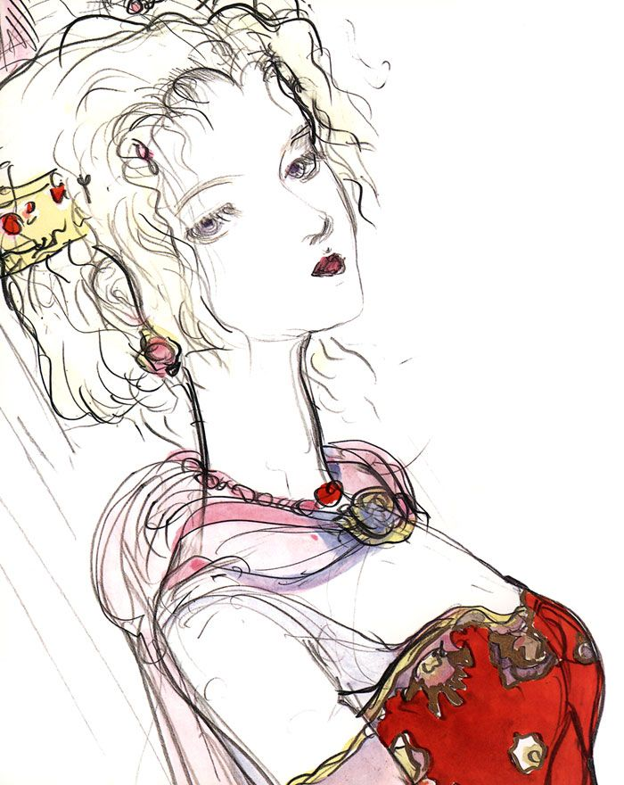 Terra Branford - Pictures & Characters Art - Final Fantasy VI