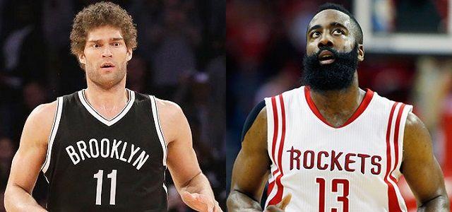 NBA - basket - Brook Lopez - Brooklyn Nets - James Harden - Houston Rockets