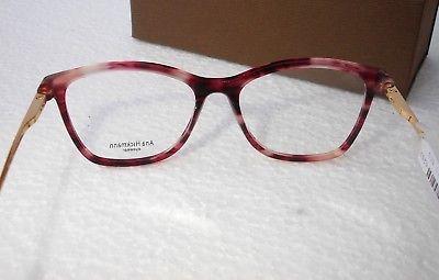 Monture lunettes de vue Femme Ana Hickmann Model AH 6269 Etat neuf REF 55