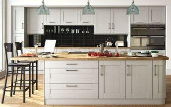 Pronto Oakgrain Grey Kitchen - By BA Components.