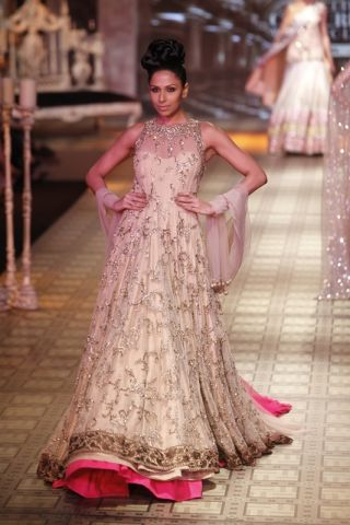 Pink underneath  ~ Manish Malhotra