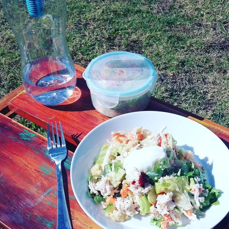 Thermomix Post Workout Salad