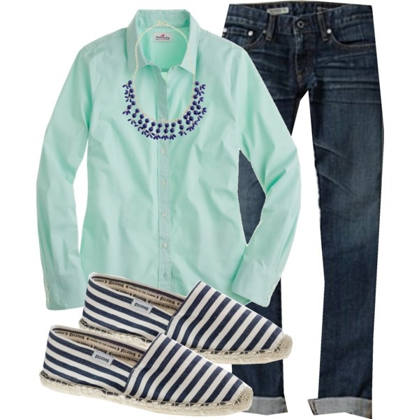 Wearing 5/8/2012pm, created by my4boys on Polyvore: Colors Buttons, Dreams Closet, Clothing, Colors Shorts, Fall Wint Style, Fall Wint Fashion, 5 8 2012Pm, Mint Green Tops, Cuffed Jeans