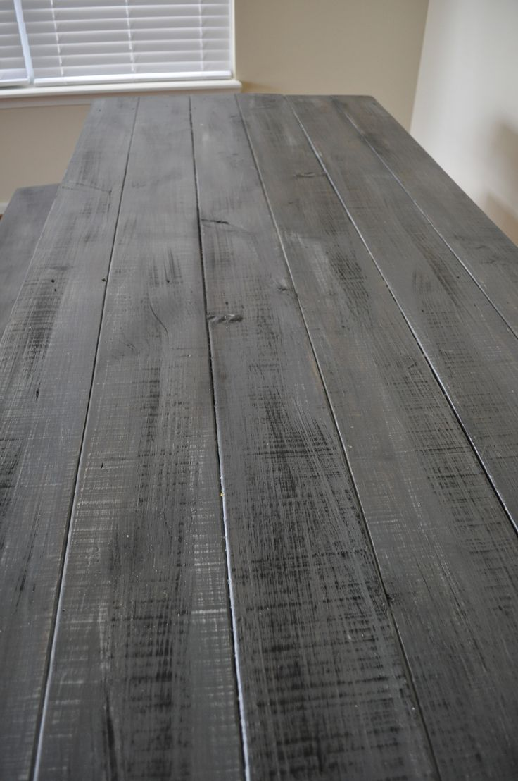 Best 25 Grey stained wood table ideas on Pinterest  Grey