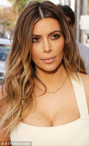 People's Choice Awards 2014: Glee star Naya Rivera looks like Kim Kardashian thanks to newly coloured locks | Mail Online