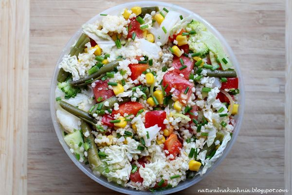 Naturalna kuchnia wegetariańska: Ulubione lunch'e lata część 2