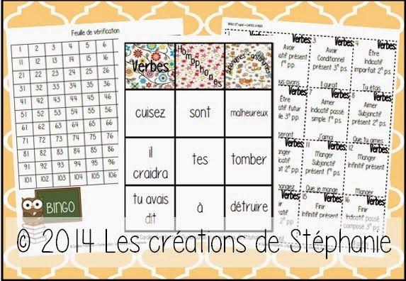Les créations de Stéphanie: Un jeu de BINGO