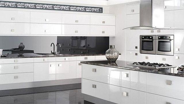 Reflections High Gloss White Kitchen - modern - kitchen cabinets - Better Kitchens