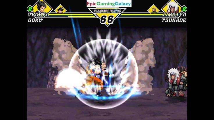 Goku And Vegeta VS Jiraiya And Tsunade In A Dragon Ball Z VS Naruto MUGEN Edition Match / Battle This video showcases Gameplay of Vegeta The Saiyan Prince and Goku VS Jiraiya The Legendary Sannin And Tsunade The Fifth Hokage In A Dragon Ball Z VS Naruto MUGEN Edition Match / Battle / Fight