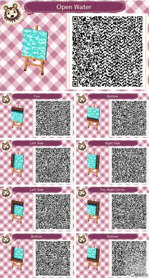 134 best images about animal crossing new leaf qr codes for Floor qr codes new leaf