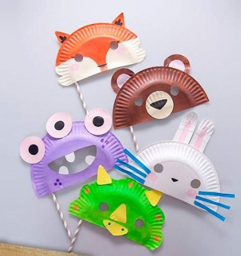 Maskers carnaval masquerade party