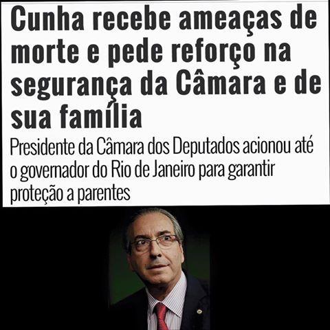 Uma quadrilha no poder. O presidente da Câmara ameaçado. ~ Revistafmesperancanossa