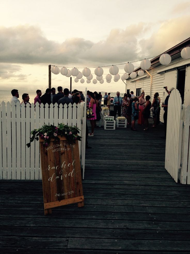 Located close to St Marys by the Sea, guests can walk over easily and straight into the party