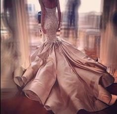 Wow!! Amazing luxury wedding dress